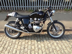 Andys Thruxton from Triumph Custom Parts