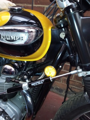 Reflector Bracket from Triumph Custom Parts