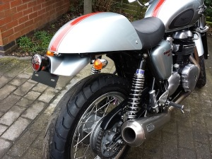 Thruxton Face Lift from Triumph Custom Parts