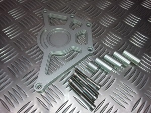 Cnc Machined Sprocket Cover from Triumph Custom Parts