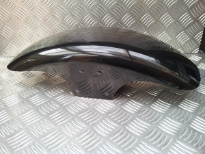 Short FatBoy Front Mudguard from Triumph Custom Parts