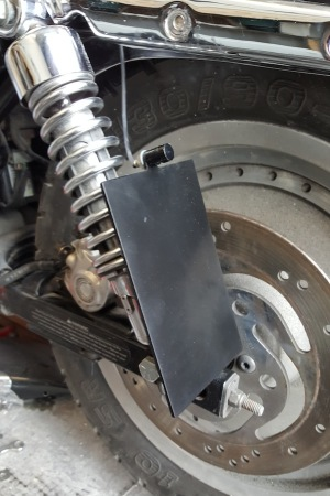 SPORTSTER SIDE MOUNT No PLATE