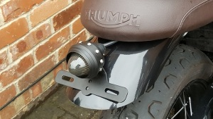 T120 Rear Mudguard & Light