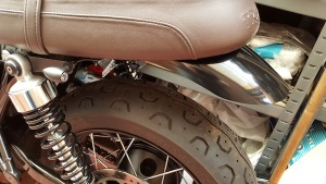 T120 Slim Sided Rear Fender from Triumph Custom Parts